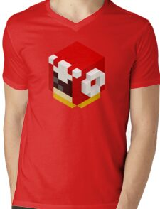 Protoman Mens V-Neck T-Shirt