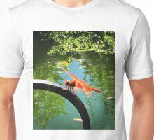 Orange Dragonfly  Unisex T-Shirt