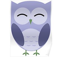 Owl be Smiling Poster