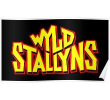 WYLD STALLYNS Poster