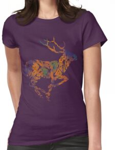 Deer Beauty Womens Fitted T-Shirt