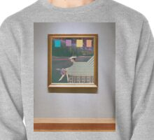 woman by road (in museum) Pullover