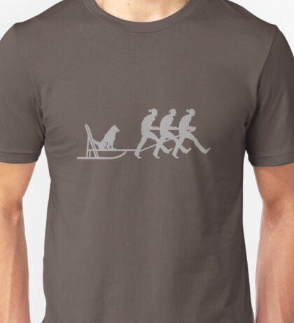 Dog Sledging VRS2 Unisex T-Shirt