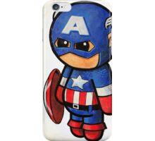 """Comic Cap"" POOTERBELLY iPhone Case/Skin"