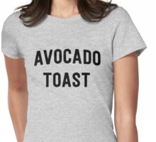 Avocado Toast Womens Fitted T-Shirt