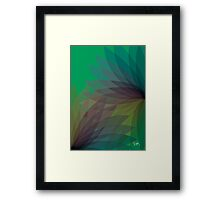 Neon Palms 14 Framed Print