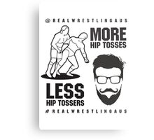 More hip tosses, less hip tossers Metal Print