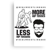 More hip tosses, less hip tossers Canvas Print
