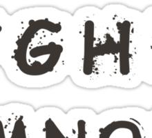 Alphabet a blot Sticker