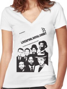 The Selecter At Liverpool Women's Fitted V-Neck T-Shirt