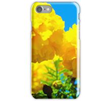 Yellow Flowers in Garden iPhone Case/Skin