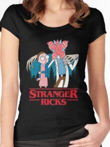 Stranger Ricks Women's Fitted Scoop T-Shirt