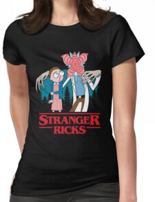 Stranger Ricks Womens Fitted T-Shirt