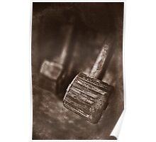 """ Old Land Rover ... Brake & Clutch  "" Poster"