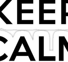 Keep Calm Geeks: Command Z Sticker