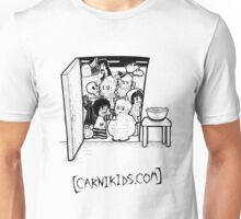 Carnikids: Trick-or-Treat B+W (Light) Unisex T-Shirt