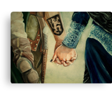 Outlaw Queen Canvas Print