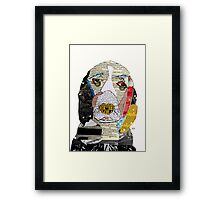 brown the spaniel  Framed Print