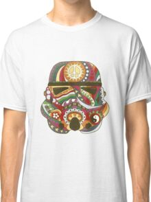 Vintage Psychedelic Storm Mask Classic T-Shirt