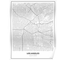 Los Angeles Minimalist Map Poster
