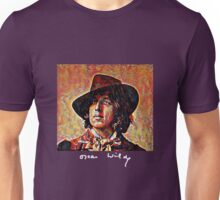 Oscar Wilde with Signature Unisex T-Shirt