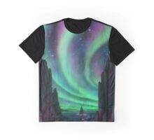 Lights Above and Below Graphic T-Shirt