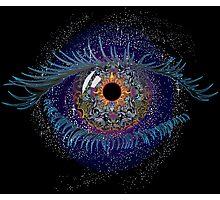 Eye -psychedelic Art Photographic Print