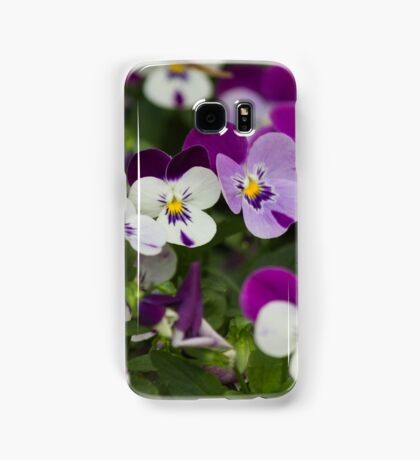 violet in the garden Samsung Galaxy Case/Skin