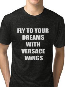 Versace Wings Riff Raff Tri-blend T-Shirt