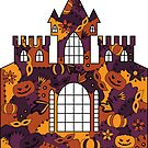 Halloween castle by Marishkayu