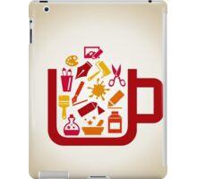 Art a cup iPad Case/Skin