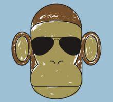 Monkey Aviators Kids Clothes