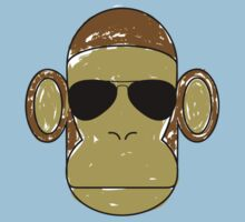 Monkey Aviators Kids Clothes