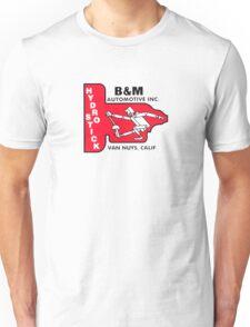 Vintage B&M Automotive Hydro Stick Logo Unisex T-Shirt