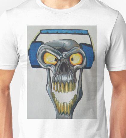Bass Skull Unisex T-Shirt
