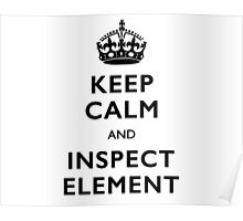 Inspect Element Poster