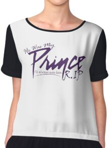 Prince He was My Prince T-shirt RIP Minneapolis Minnesota Star Tshirt Unisex Men Women Boy Girl Chiffon Top