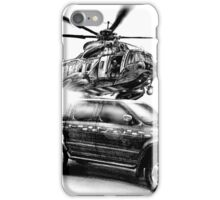 Coastguard Truck and Helicopter iPhone Case/Skin