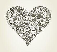 Art heart by Aleksander1