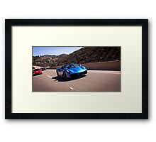 Ferrari 488 GTB Spider Leading the Pack! Framed Print