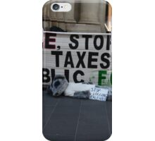 Peaceful protest iPhone Case/Skin