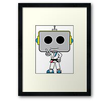 Grappler Bot Framed Print