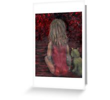 The Wall by 'Donna Williams' Greeting Card