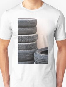 old tires Unisex T-Shirt