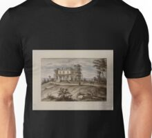 408 Original drawings representing residences of prominent people all with Staten Island NY on the drawn portion Unisex T-Shirt