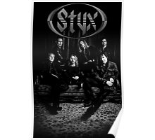 styx - One With Everything: Styx and the Contemporary Youth Orchestra - paradise theater black and white Poster
