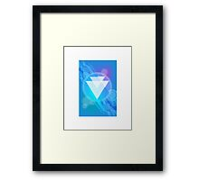 Tetra SciFi Blue Framed Print