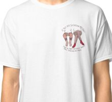 """i put socks on my feet"" Classic T-Shirt"