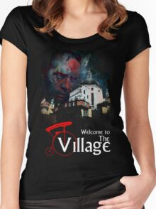 The Prisoner Welcome To The Village Women's Fitted Scoop T-Shirt