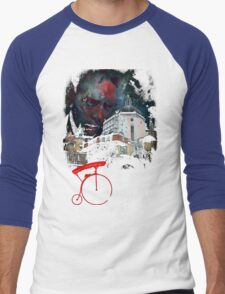 The Prisoner Welcome To The Village Men's Baseball ¾ T-Shirt